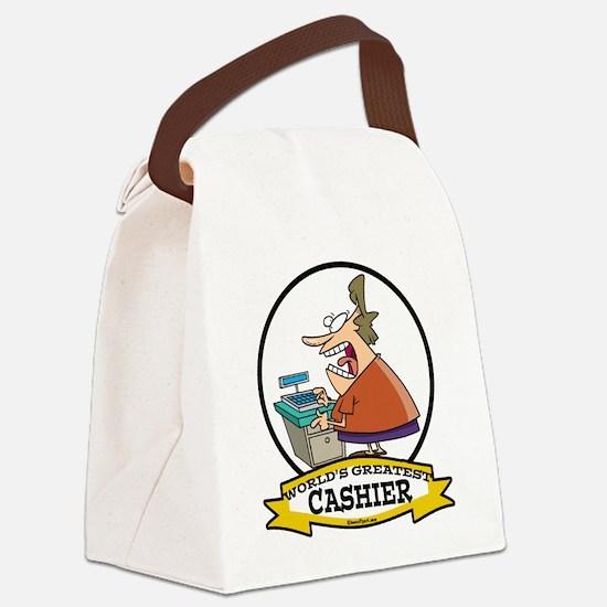 WORLDS GREATEST CASHIER CARTOON.png Canvas Lunch B