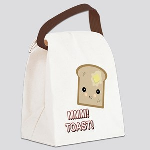 mmm toast Canvas Lunch Bag