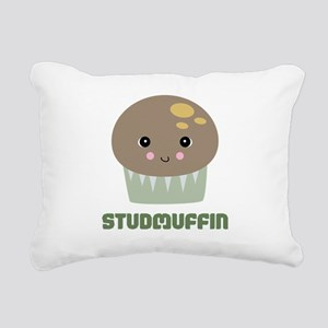 studmuffin Rectangular Canvas Pillow