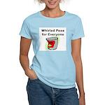 World Peace Women's Pink T-Shirt