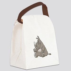 RHINO vvMAD copy Canvas Lunch Bag