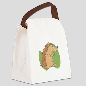 porcupine2 copy Canvas Lunch Bag