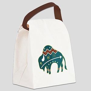 native buffalo Canvas Lunch Bag