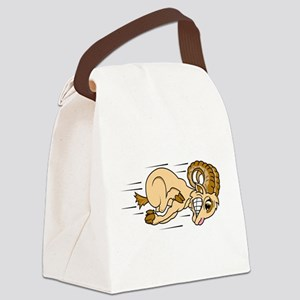 funny ramming ram Canvas Lunch Bag