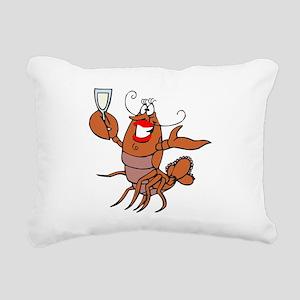tow lobster file Rectangular Canvas Pillow