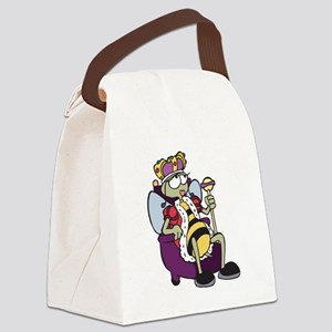 qeen bee Canvas Lunch Bag
