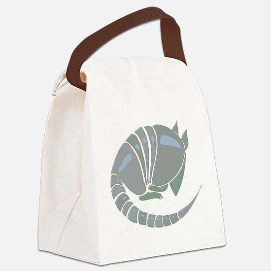 armidilloone.jpg Canvas Lunch Bag