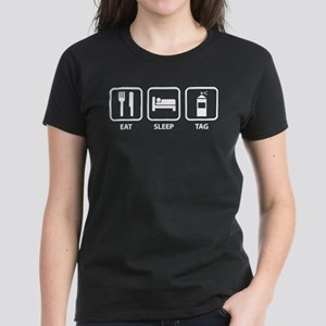 Eat Sleep Tag Women's Dark T-Shirt