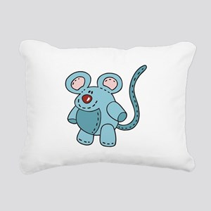 stuffed mouse Rectangular Canvas Pillow