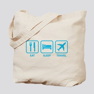 Eat Sleep Travel Tote Bag