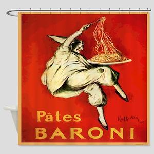 Cappiello Pates Baroni Shower Curtain