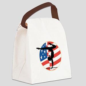 usa gymnastics copy Canvas Lunch Bag