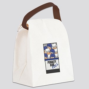 penaltyboxfull copy Canvas Lunch Bag
