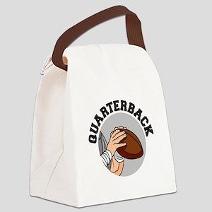 football quarterback vector graphic design Can