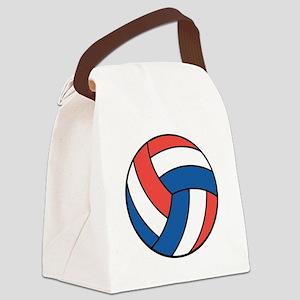 american volley copy Canvas Lunch Bag