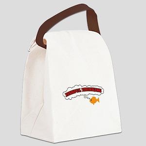 fishful thinking copy Canvas Lunch Bag