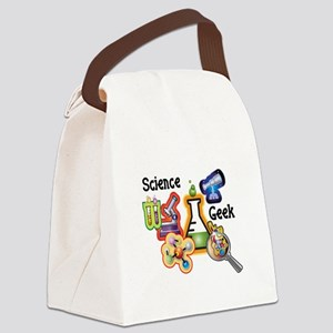 science geekfixed Canvas Lunch Bag