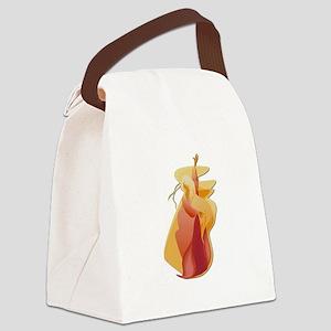 fire goddess Canvas Lunch Bag