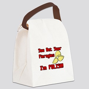 pierogies2 copy Canvas Lunch Bag