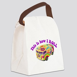 how i rool Canvas Lunch Bag