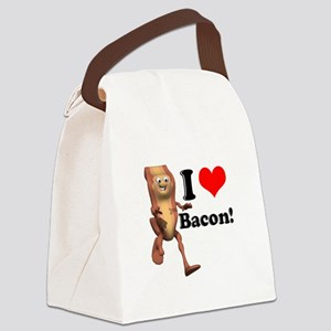 bacon copy Canvas Lunch Bag