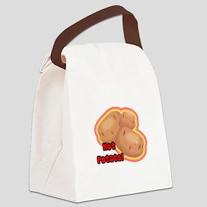 hot potato Canvas Lunch Bag