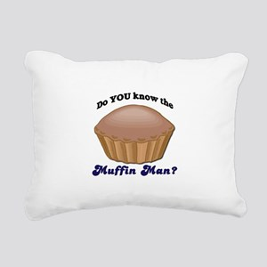 muffinman Rectangular Canvas Pillow