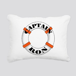 cap ron Rectangular Canvas Pillow