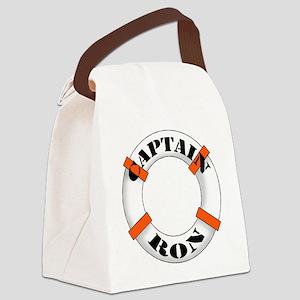 cap ron Canvas Lunch Bag