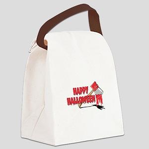 happy halloween axe copy Canvas Lunch Bag