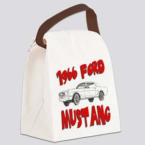 66 mustang Canvas Lunch Bag