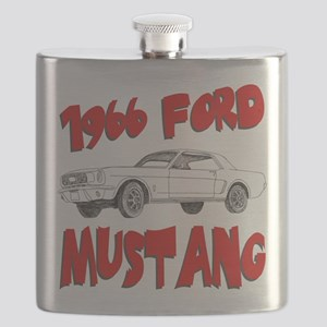 66 mustang Flask