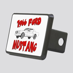 66 mustang Rectangular Hitch Cover