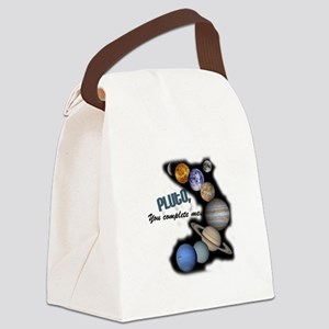 pluto1 Canvas Lunch Bag