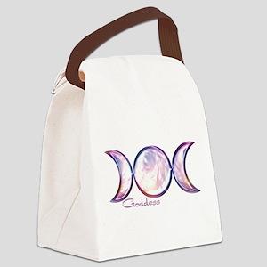 triple moon copy Canvas Lunch Bag