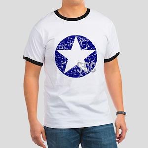 Star Shield Blue Ringer T