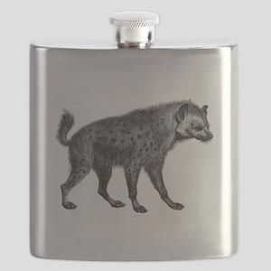 Vintage Hyena Flask