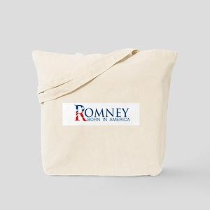 Romney: Born in America Tote Bag