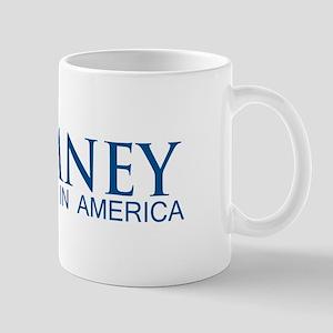 Romney: Born in America Mug