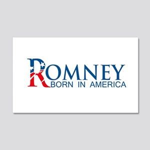 Romney: Born in America 20x12 Wall Decal