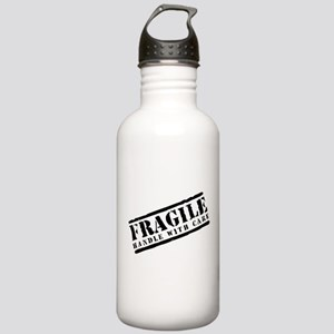 Fragile Handle With Care Stainless Water Bottle 1.