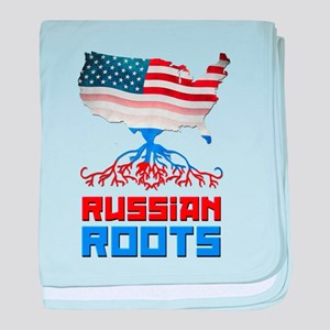 American Russian Roots baby blanket
