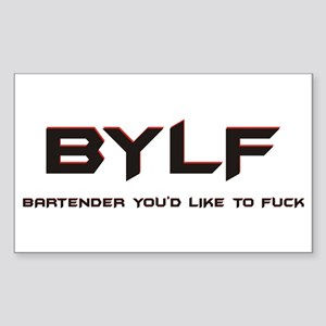 BYLF Rectangle Sticker