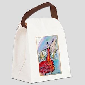 Flamenco dancer, art! Canvas Lunch Bag