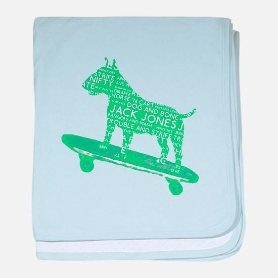Vintage London Slang Skateboarding Bull Terrier ba