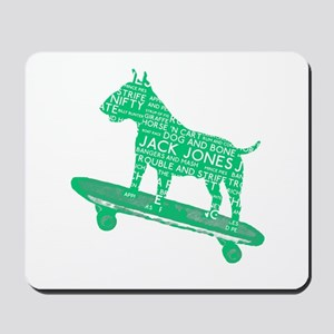 Vintage London Slang Skateboarding Bull Terrier Mo