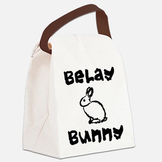 Belay Bunny Canvas Lunch Bag