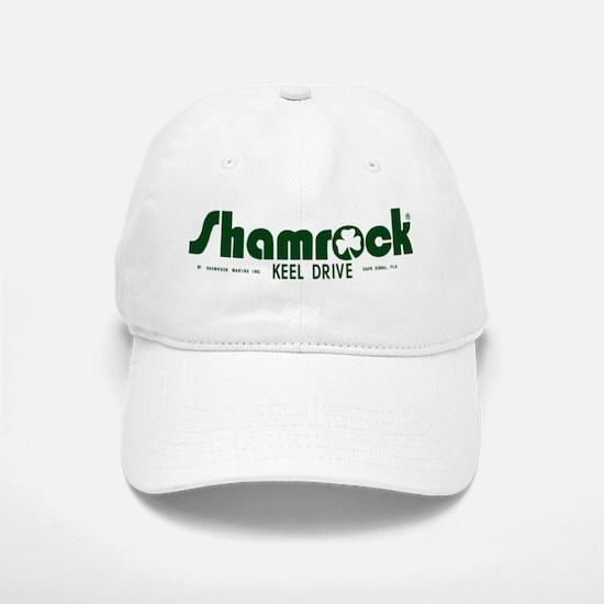 SHAMROCK LOGO 1 GREEN Baseball Baseball Cap