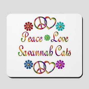 Savannah Cats Mousepad