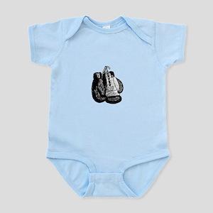 Vintage 8oz Boxing Gloves Infant Bodysuit